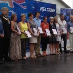 Australia Day award recipients.