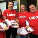 New leader says Labor on the up and up.