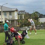 Play during last year's NSW Golf Open regional qualifier at Camden Golf Club.