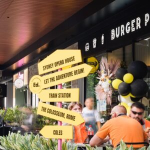 Eat street the delicious new hub of Ed.Square town centre