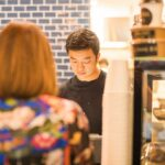 Images from the inaugural Love Livo Nights after-work pop-up event, with Japanese-inspired food, drinks and decor organised by partner business Out of Office Espresso.