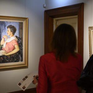 Alan Baker Archibald Prize entries on exhibition in Camden