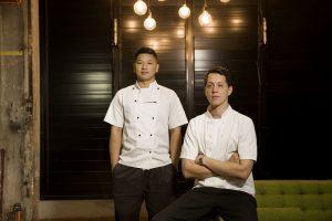 Bellbird head chef Federico Rekowski and sous chef Steven Pham.