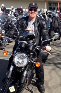 MP Chris Hayes has taken part in the Wall to Wall Ride for Remembrance for the seventh year.