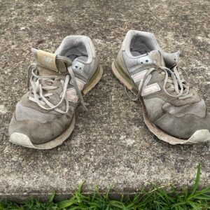 Golf and haircut can wait, but not track shoes