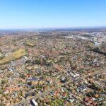Aerial images of Liverpool's suburban area - Feb 2020