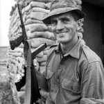 Sergeant Reg Matheson, the father of Macarthur MP Russell Matheson.