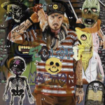 The David Griggs acrylic on canvas work, Zoloft Nation.