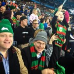 Ned Flanders is a Souths supporter, second from left.