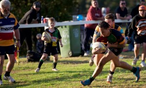 The Camden Rams won Saturday's local derby against home side Campbelltown Harlequins.
