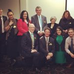 Former MP Bryan Doyle in charge at Campbelltown Rotary Club.