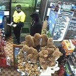 CCTV image taken during the robbery at St Andrews