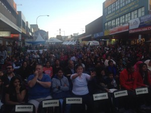 Big crowds at this year's Liverpool Starry Sari Night