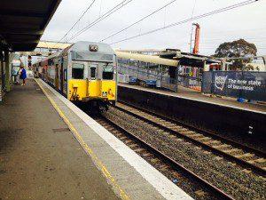 Express train service