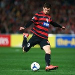 Tommi Juric on the ball last Wednesday night. Picture: Western Sydney Wanderers
