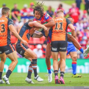 Wests Tigers forwards show some mongrel at last